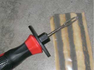 パンク修理工具