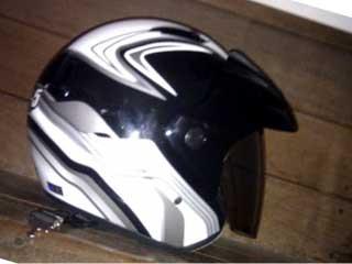 新ヘルメット